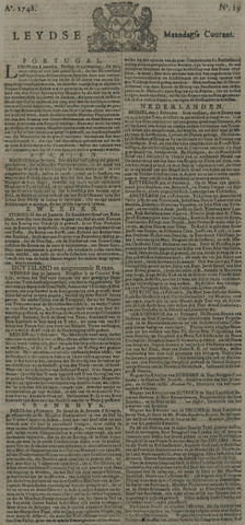 Leydse Courant 1748-02-12