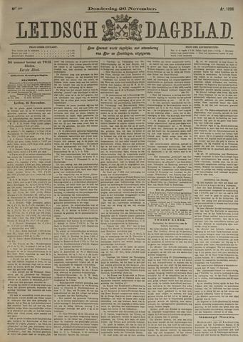 Leidsch Dagblad 1896-11-26