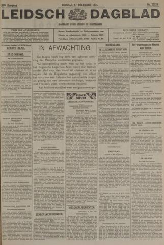 Leidsch Dagblad 1935-12-17