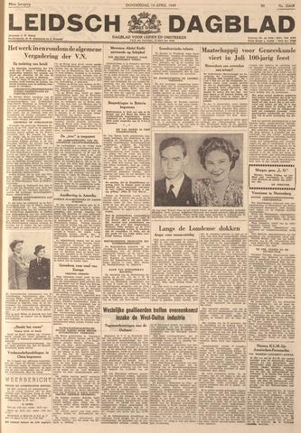 Leidsch Dagblad 1949-04-14