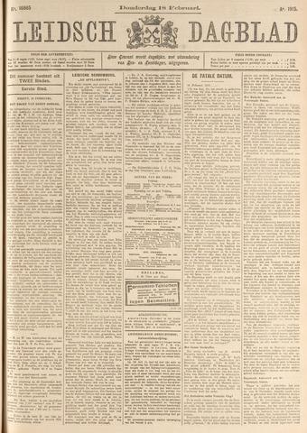 Leidsch Dagblad 1915-02-18