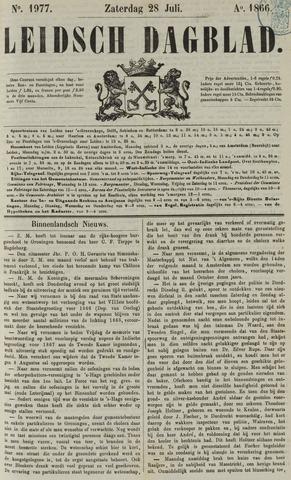 Leidsch Dagblad 1866-07-28