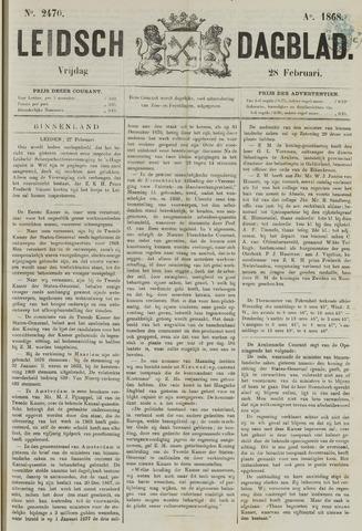 Leidsch Dagblad 1868-02-28