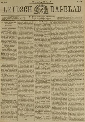 Leidsch Dagblad 1904-04-27