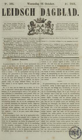 Leidsch Dagblad 1861-10-16