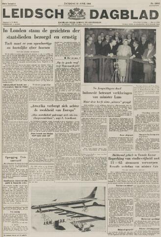Leidsch Dagblad 1956-04-21