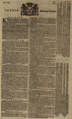 Leydse Courant 1779-01-11