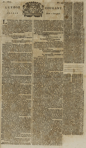 Leydse Courant 1805-03-22