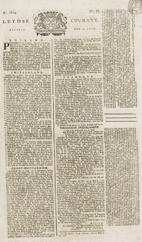 Leydse Courant 1814-07-25