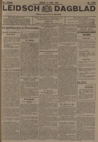 Leidsch Dagblad 1940-04-23