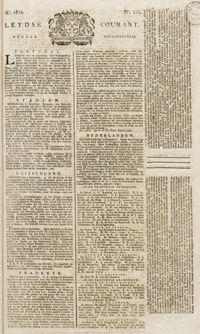 Leydse Courant 1814-09-16