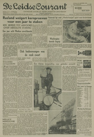 Leidse Courant 1958-10-28