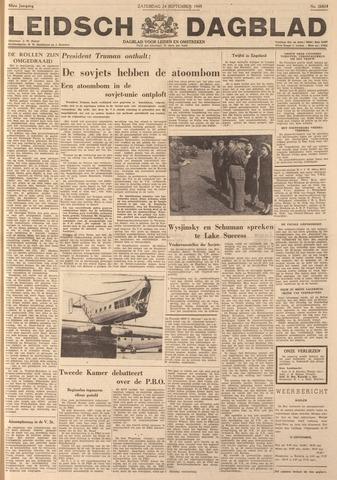 Leidsch Dagblad 1949-09-24