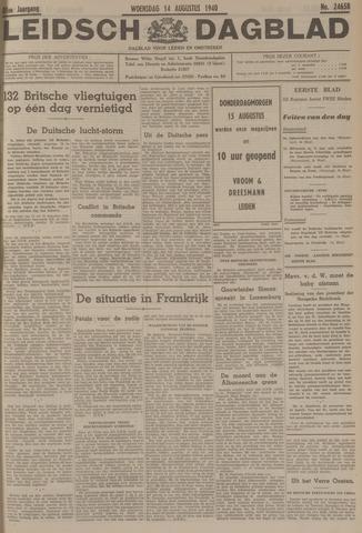 Leidsch Dagblad 1940-08-14