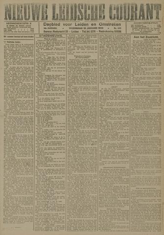 Nieuwe Leidsche Courant 1923-01-10