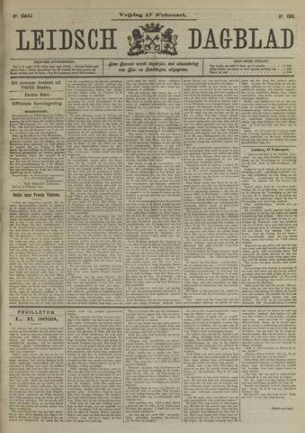 Leidsch Dagblad 1911-02-17