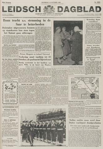 Leidsch Dagblad 1955-10-15