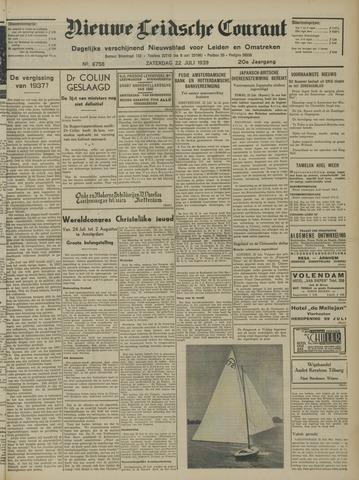 Nieuwe Leidsche Courant 1939-07-22