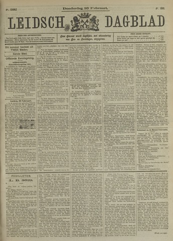 Leidsch Dagblad 1911-02-16