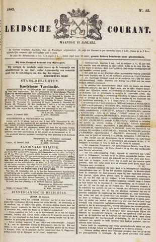 Leydse Courant 1883-01-15