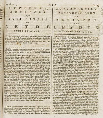 Leydse Courant 1812-05-25