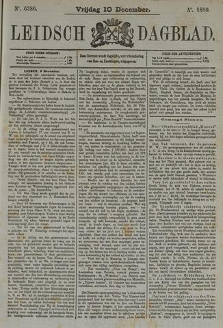 Leidsch Dagblad 1880-12-10