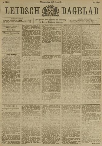 Leidsch Dagblad 1904-04-25