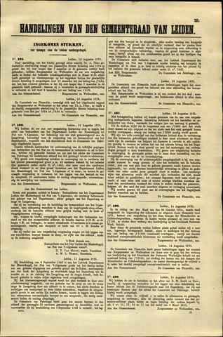 Handelingen van de Raad 1875-08-12