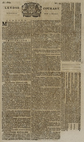 Leydse Courant 1803-03-09