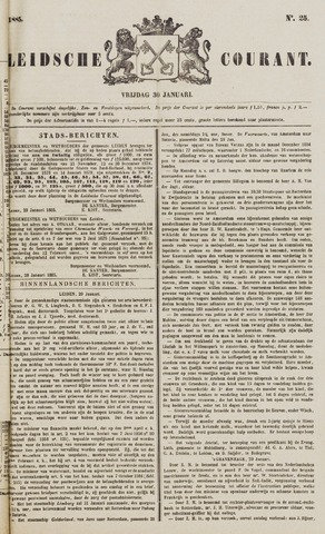 Leydse Courant 1885-01-30