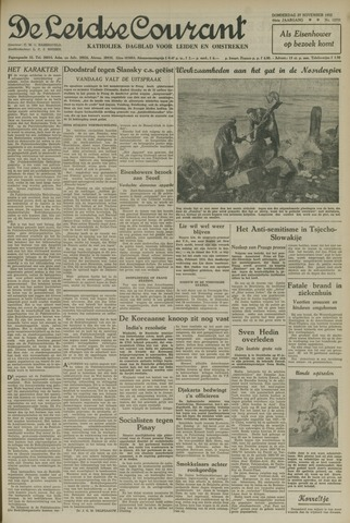 Leidse Courant 1952-11-27