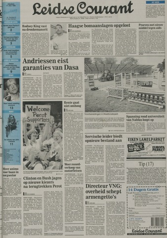 Leidse Courant 1992-07-17
