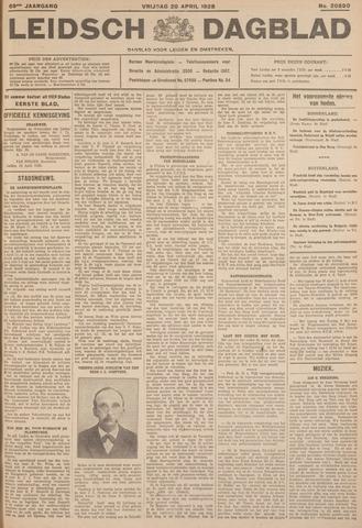Leidsch Dagblad 1928-04-20