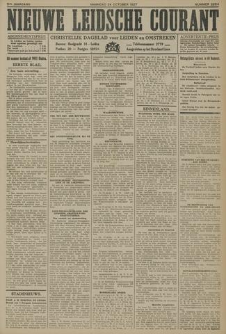 Nieuwe Leidsche Courant 1927-10-24