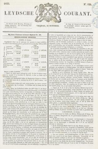 Leydse Courant 1855-10-12