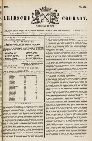 Leydse Courant 1883-06-13