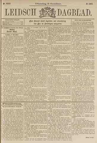 Leidsch Dagblad 1893-10-03