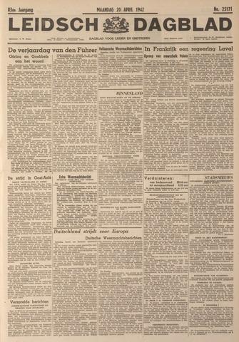 Leidsch Dagblad 1942-04-20