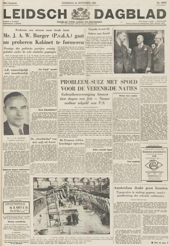 Leidsch Dagblad 1956-09-22