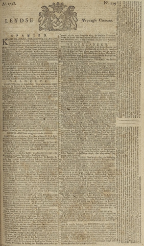 Leydse Courant 1758-10-27