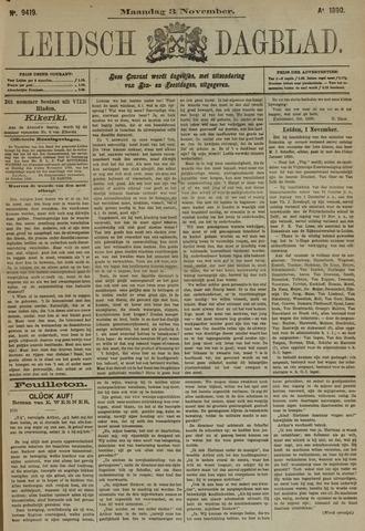 Leidsch Dagblad 1890-11-03