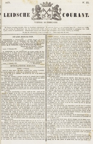 Leydse Courant 1871-02-10