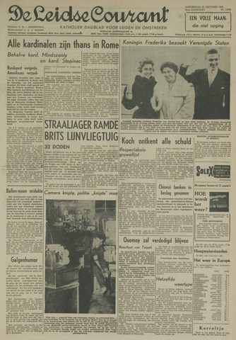 Leidse Courant 1958-10-23