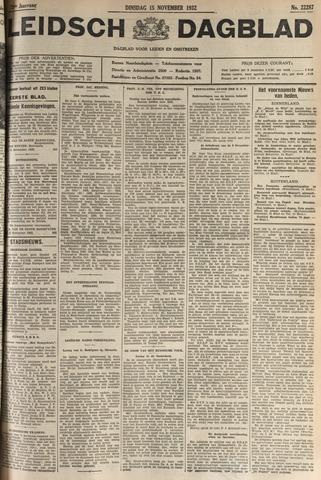 Leidsch Dagblad 1932-11-15