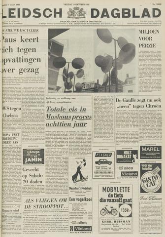 Leidsch Dagblad 1968-10-11