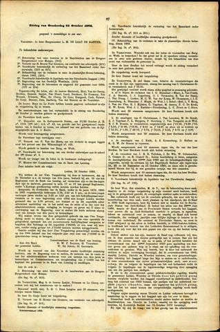 Handelingen van de Raad 1883-10-25