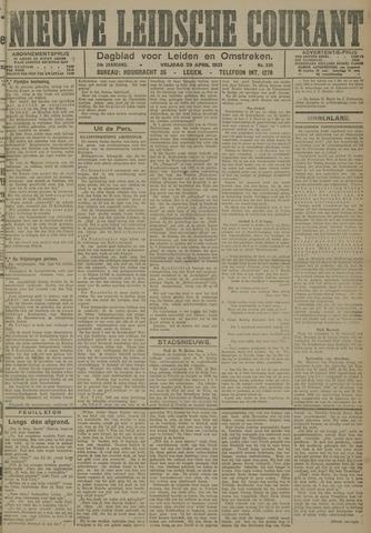 Nieuwe Leidsche Courant 1921-04-29