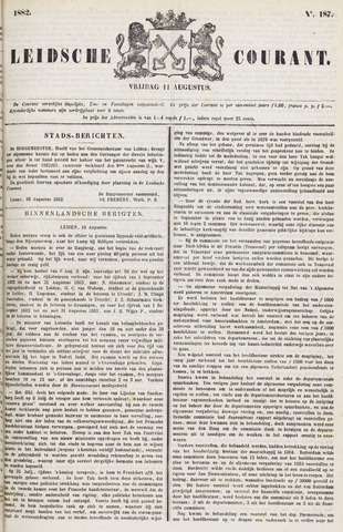 Leydse Courant 1882-08-11