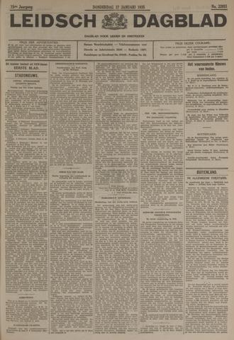 Leidsch Dagblad 1935-01-17