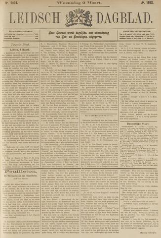 Leidsch Dagblad 1892-03-02
